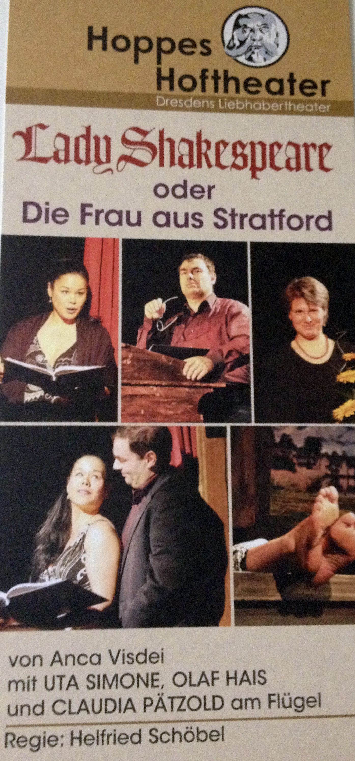 Lady Shakespeare en Allemand